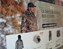Hunting brand website /