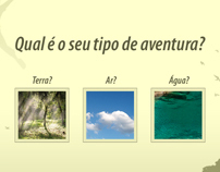Sítio aventureiro - Hot site