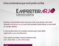 Empreiteira RJ - Institutional Web Site