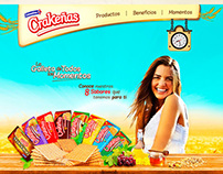 Galletas Crakeñas - Colombina