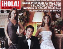 my covers for HOLA magazine