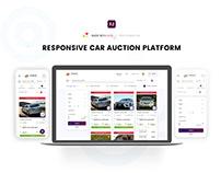 Responsive Car Auction Platform | Free Download