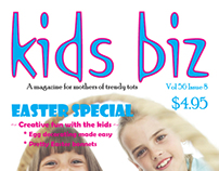 Masthead and Magazine Cover Design
