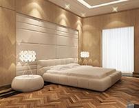 AH Villa - Master Bedroom