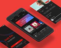 Last.fm App Redesign