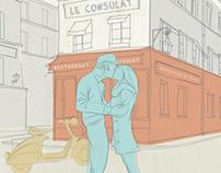 L' amour a Montmartre