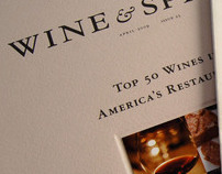 Wine & Spirits: Magazine Redesign