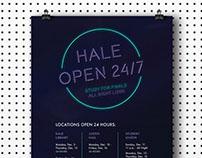 Hale 24/7 Finals Poster