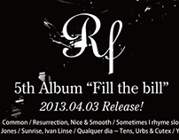 Flayer of RF's 5th Album