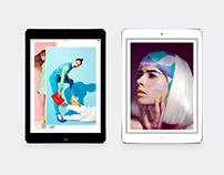 Tablet Fashion Editorial
