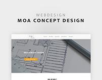 Moa Concept Design - Site web