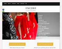 Encore, Site Redesign