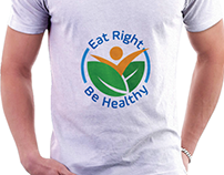 Eat Right Be Healthy Logo