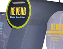 Reverb guitar string POP display