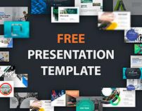 Free Presentation Template by slideseller.com