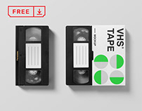 Free VHS Mockup