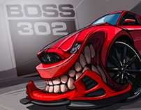 BOSS 302 Beasted-up!