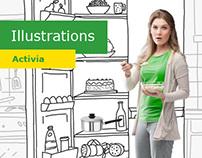 Illustration for Activia