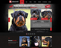 Zkennel Website Design - Egypt