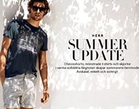 H & M Summer Update