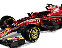 F1 2017 Livery Concepts