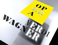 Wagner/Verdi. Opera.
