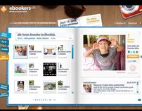 """ebookers """"10 Jahre Ferien"""", Multimedia-Kampagne"""
