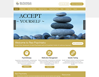 WIX Website for Psychiatry Clinic
