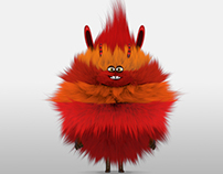 mascot 3D yeti