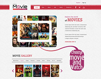 Sample Website on Online Movies