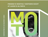 Motown Night Poster Collection
