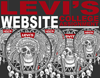 Levi's Website - College Assignment