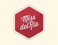 Miss del Rio - Logo and CV