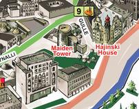 Baku City Map