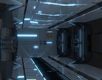 Spaceship Hallway