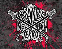 LOOK BOOK Brainless Terror Merch 2015