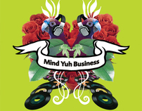 Mind Yuh Business club ~ image and promotional items
