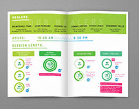 Poun holistic wellness center USA - Brochure design