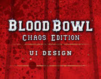 Blood Bowl UI Design