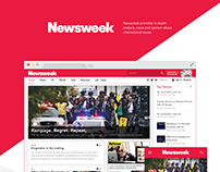 Newsweek Web design