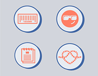 "Icon Set made for ""Web Done"" Infographic"