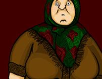 Серія ілюстрацій для сайту «Колорит»