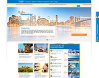 D-reizen.nl corporate webdesign