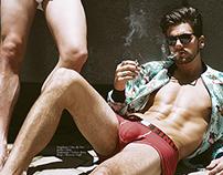 Male Model Scene: Testosterone