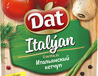 "Design of the concept sauces TM ""Dat"""