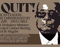 Editorial illustration - I quit by BOB