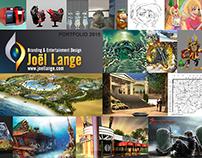 Theme Park Designer New Portfolio 2015 - Joël Lange
