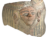 Sacrophagus mask – Egyptian