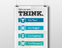 """THINK"" Poster"