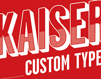Kaiser beer – Custom Type
